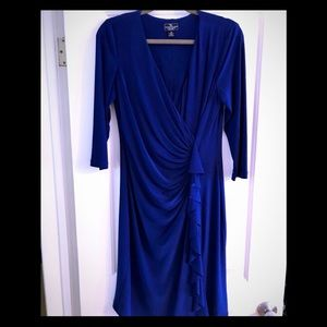 American Living Ralph Lauren blue dress sz 10